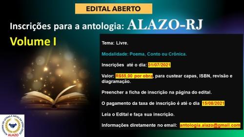 Campanha ANTOLOGIA ALAZO Volume I